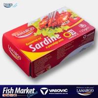 """Sardina paradajz 125g """"Lamargo"""" E.O."""